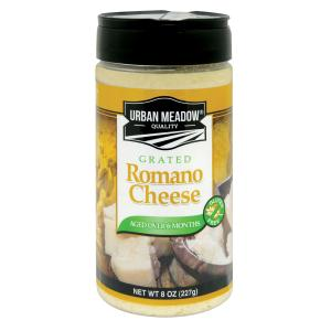 Urban Meadow - Grated Romano Cheese