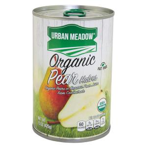 Urban Meadow Green - Organic Pear Halves