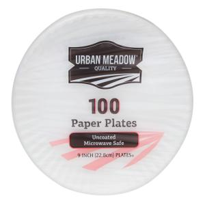Urban Meadow - Uncoated 9 Inch Plates