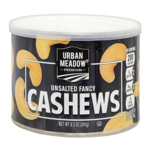 Urban Meadow - Unsalted Fancy Cashews